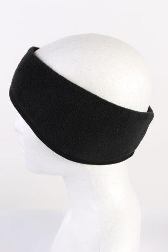 Vintage Fleece Headband Black HB071-118292