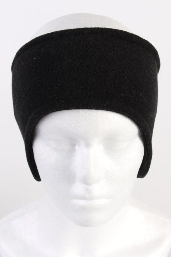 Vintage Fleece Headband Black HB073-0