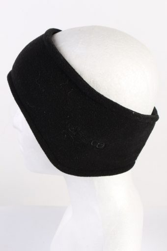 Vintage Fleece Headband Black HB073-118286
