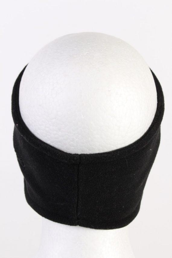 Vintage Fleece Headband Black HB073-118287