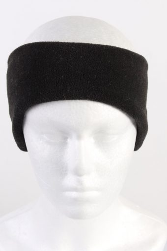 90s Fleece Headband Black
