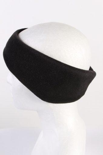 Vintage Fleece Headband Black HB074-118283