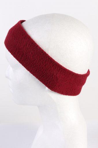 Vintage Fleece Headband Red HB079-118268