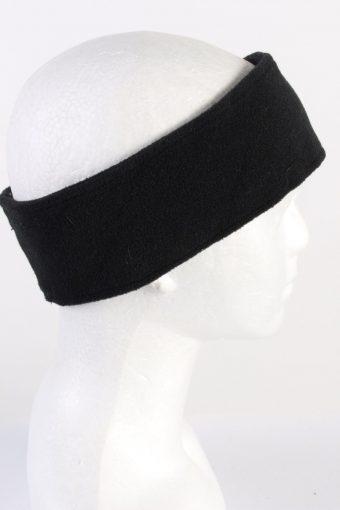 Vintage Fleece Headband Black HB080-118265