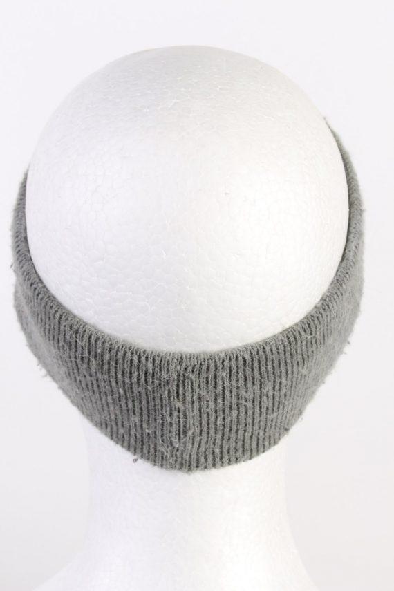 Vintage Knit Headband Grey HB081-118263