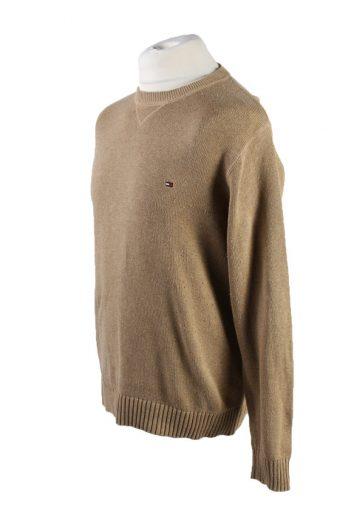 Vintage Tommy Hilfiger Pullover Jumper M Brown -IL1802-117388