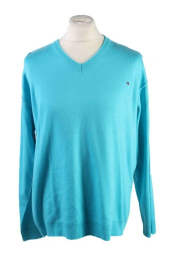 Tommy Hilfiger Pullover Jumper Turquoise XXL