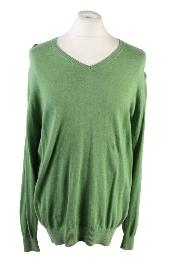 Vintage Pierre Cardin Pullover Jumper Size XXL Green -IL1810-0