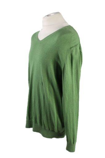 Vintage Pierre Cardin Pullover Jumper Size XXL Green -IL1810-117412