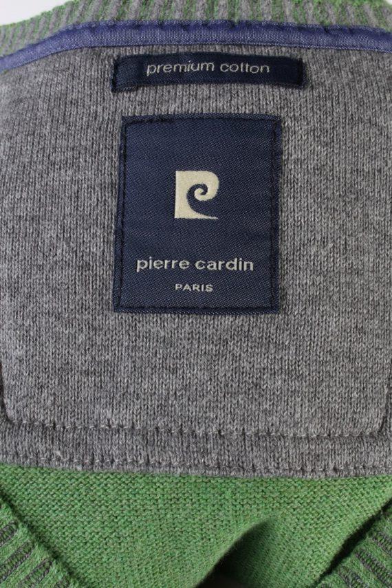 Vintage Pierre Cardin Pullover Jumper Size XXL Green -IL1810-117414
