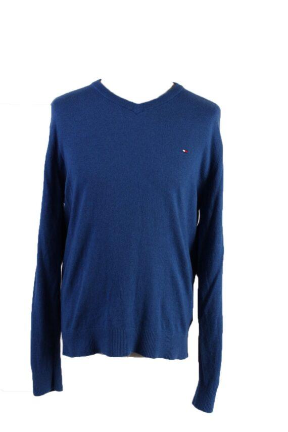 Vintage Tommy Hilfiger Pullover Jumper XL Blue -IL1814-0