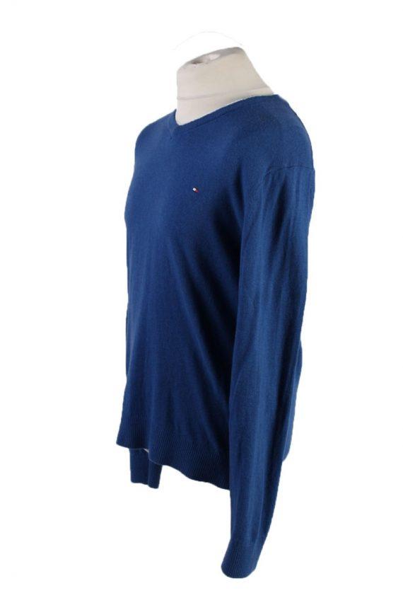 Vintage Tommy Hilfiger Pullover Jumper XL Blue -IL1814-117571