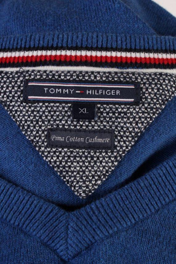 Vintage Tommy Hilfiger Pullover Jumper XL Blue -IL1814-117573