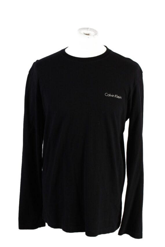 Vintage Calvin Klein Sweatshirt L Black -IL1826-0