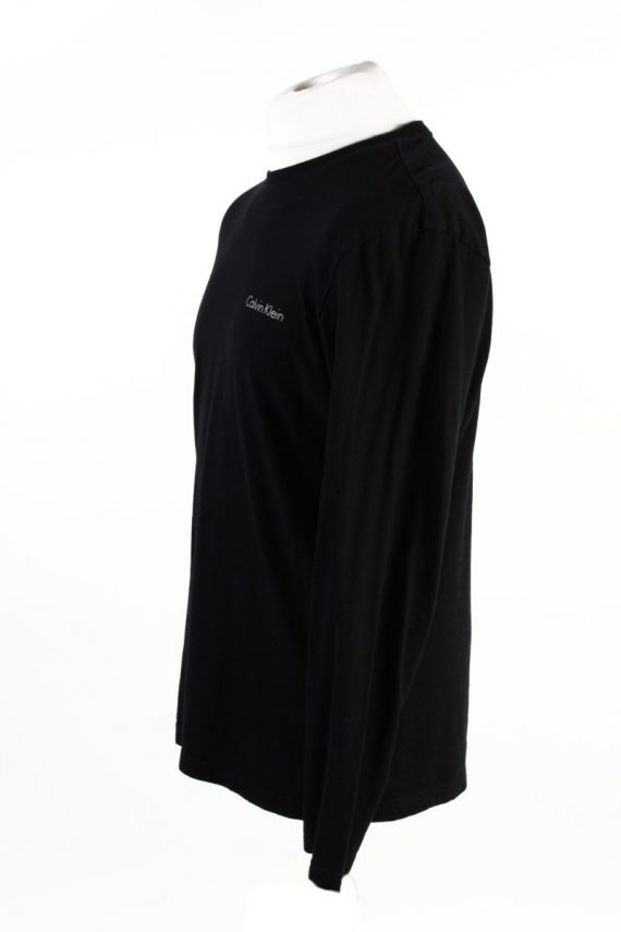 Vintage Calvin Klein Sweatshirt L Black -IL1826-117977