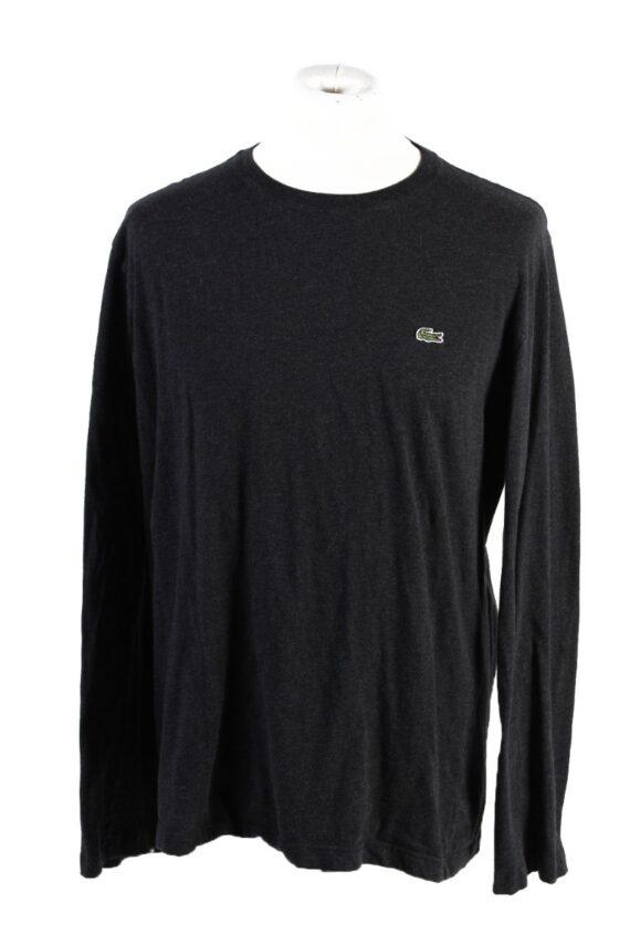 Vintage Lacoste Sweatshirt Dark Grey -IL1827-0