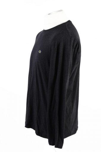 Vintage Lacoste Sweatshirt Dark Grey -IL1827-117973