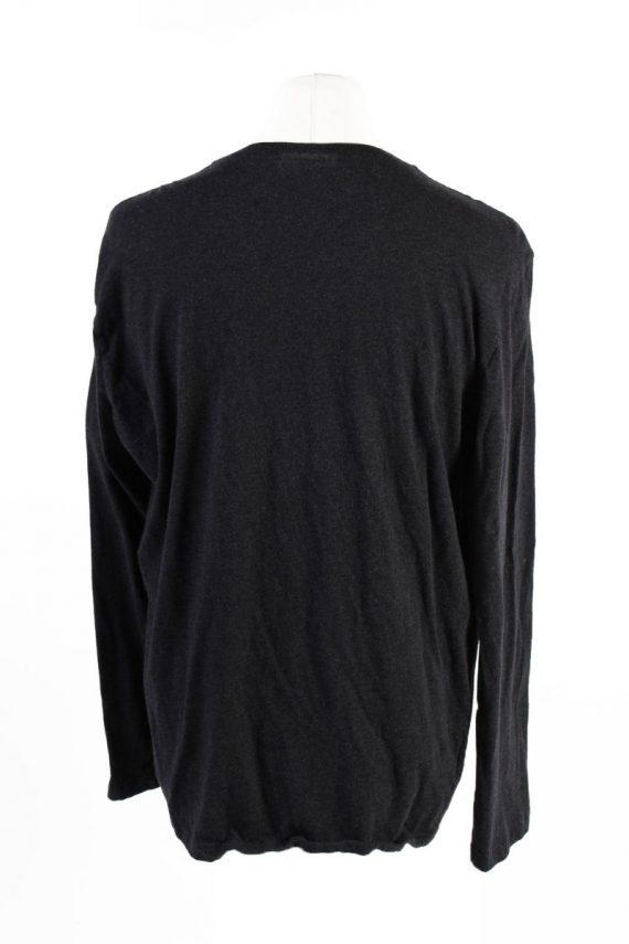 Vintage Lacoste Sweatshirt Dark Grey -IL1827-117974