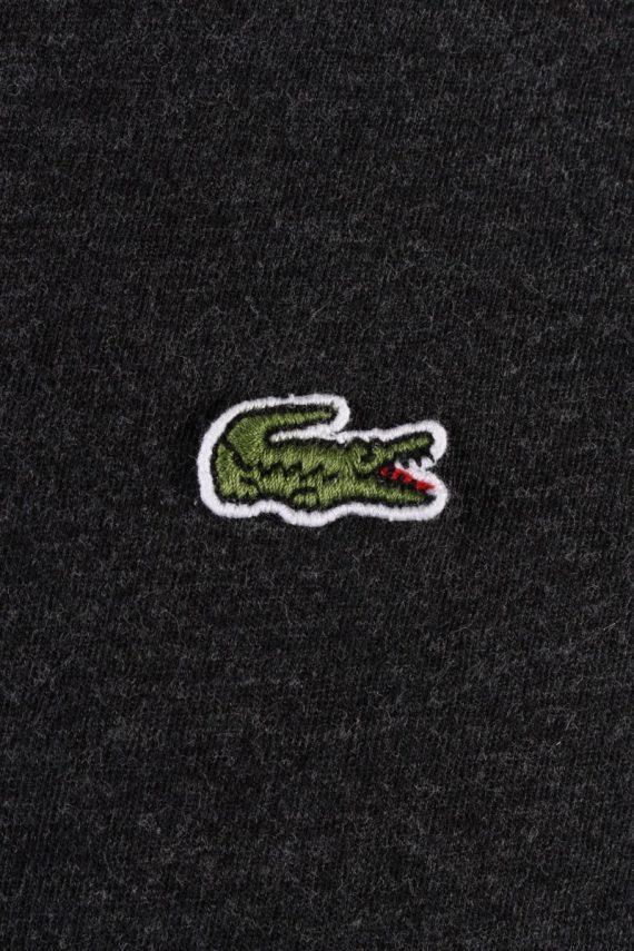 Vintage Lacoste Sweatshirt Dark Grey -IL1827-117975