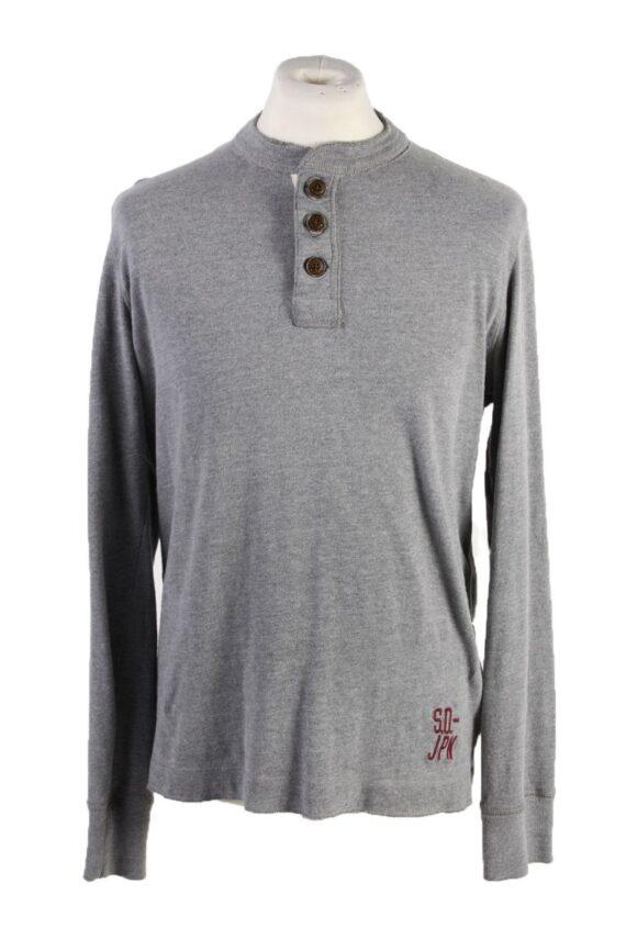Vintage Superdry Sweatshirt XL Grey -IL1830-0