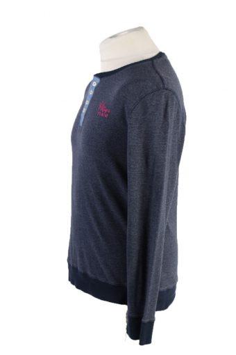 Vintage Tommy Hilfiger Sweatshirt S Navy -IL1832-117953