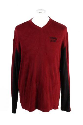 Tommy Hilfiger Sweatshirt Red L