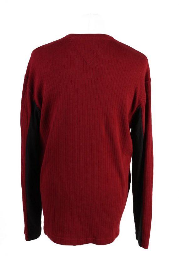 Vintage Tommy Hilfiger Sweatshirt L Red -IL1835-117942