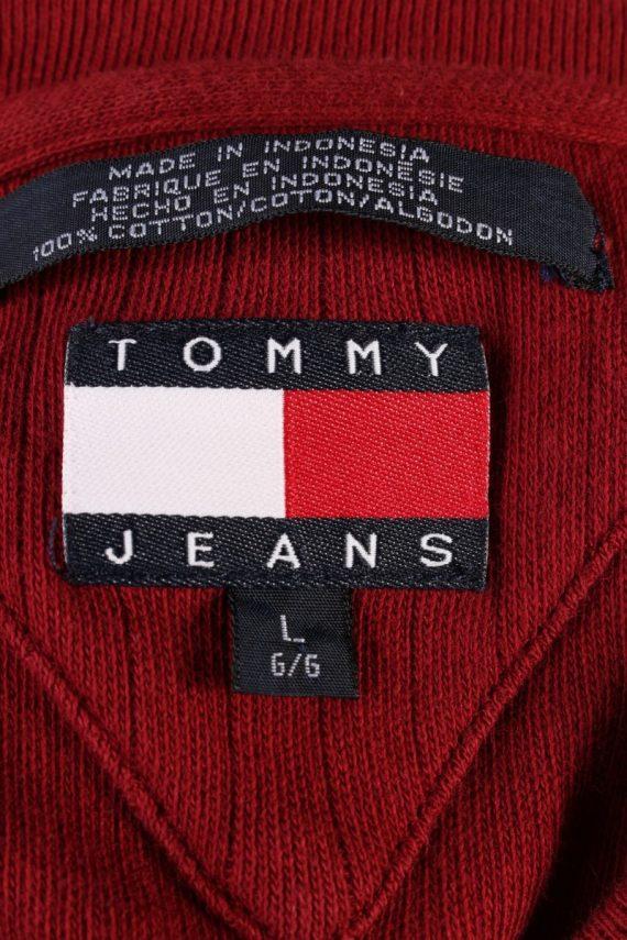 Vintage Tommy Hilfiger Sweatshirt L Red -IL1835-117943