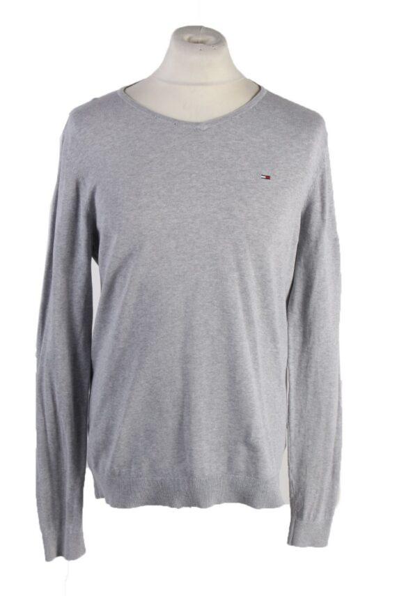 Vintage Tommy Hilfiger Sweatshirt L Grey -IL1836-0