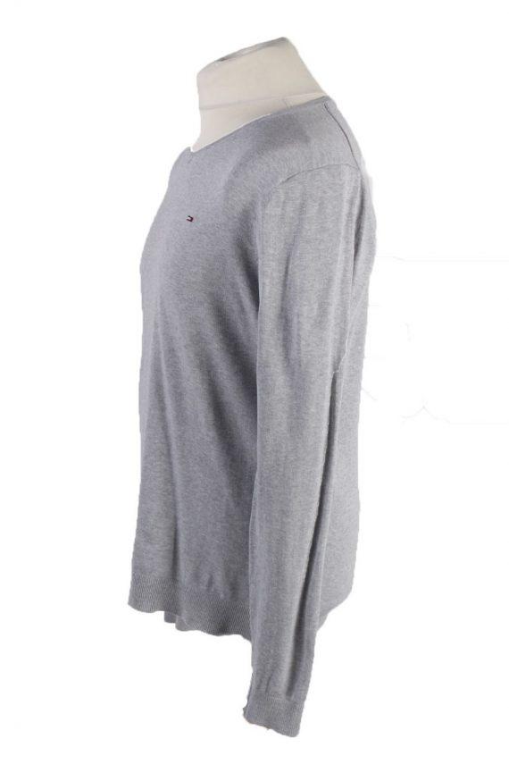 Vintage Tommy Hilfiger Sweatshirt L Grey -IL1836-117937