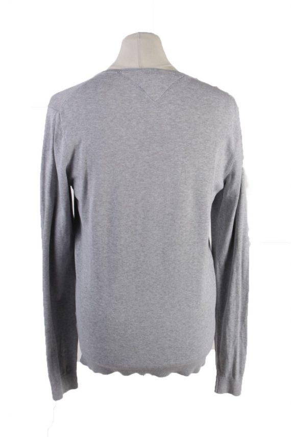 Vintage Tommy Hilfiger Sweatshirt L Grey -IL1836-117938