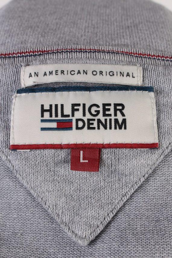 Vintage Tommy Hilfiger Sweatshirt L Grey -IL1836-117939