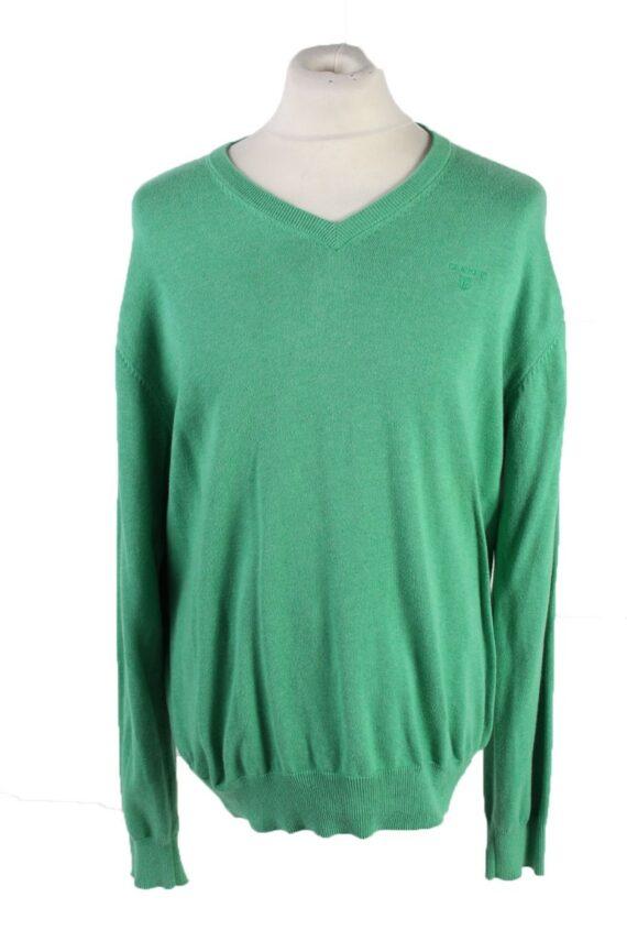 Vintage Gant Pullover Jumper XL Green -IL1847-0
