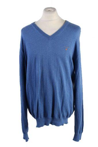 Gant Pullover Jumper Blue XL