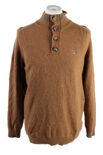 Gant Pullover Jumper Brown XL