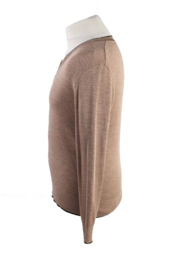 Vintage Pullover Jumper Light Brown -IL1852-118467