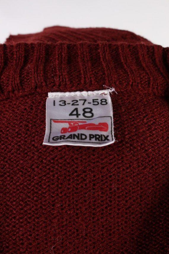 Vintage Grand Prix Pullover Jumper 48 Multi -IL1855-118457