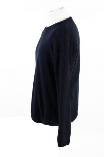 Vintage Carhartt Pullover Jumper M Navy -IL1856-118451