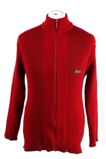 Armani Pullover Jumper Red XL