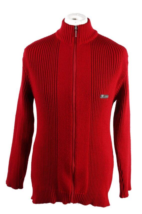 Vintage Armani Pullover Jumper Red -IL1857-0