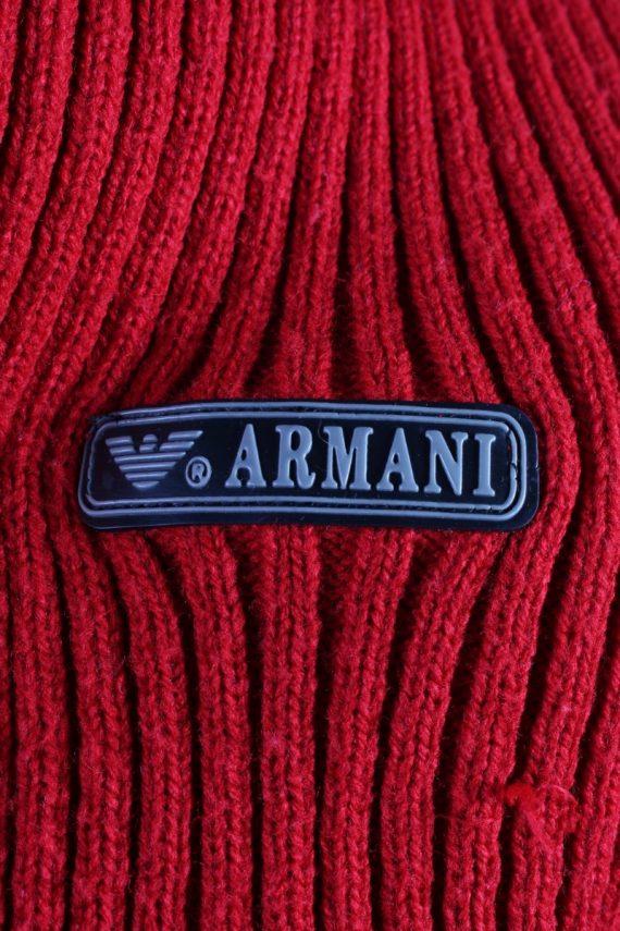 Vintage Armani Pullover Jumper Red -IL1857-118449