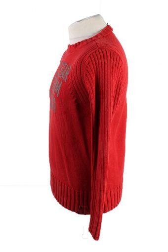 Vintage GStar Pullover Jumper M Red -IL1858-118443