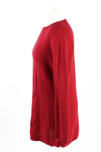 Vintage Pullover Jumper Red -IL1871-118630