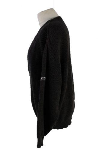 Vintage Hugo Boss Pullover Jumper 52 Dark Grey -IL1896-118533