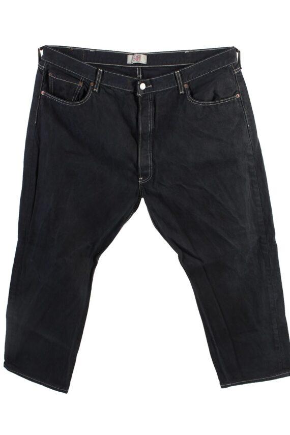 Vintage Levis 501 Mens Jeans Grade A Black 40W 27L J4422 -0