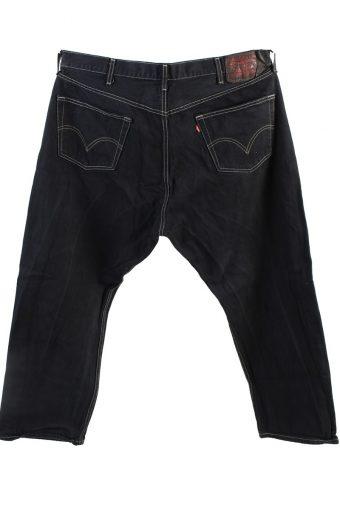 Vintage Levis 501 Mens Jeans Grade A Black 40W 27L J4422 -117775