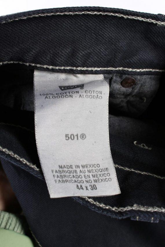 Vintage Levis 501 Mens Jeans Grade A Black 40W 27L J4422 -117777