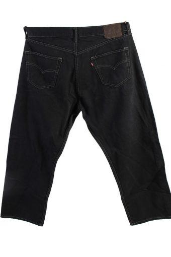 Vintage Levis 501 Mens Jeans Grade A Black 38W 28L J4423-117771