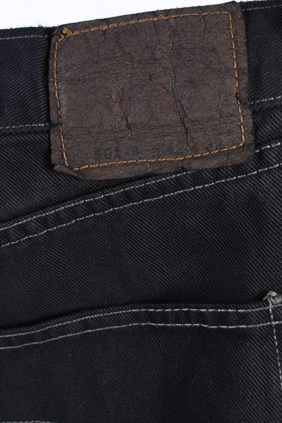 Vintage Levis 501 Mens Jeans Grade A Black 38W 28L J4423-117772
