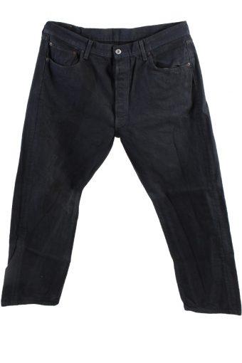 Levi's 501 Denim Jeans Straight Mens W36 L29